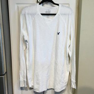 Heritage Thermal White 100% Cotton Tee Shirt